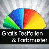 Testfolien und farbmuster wandtattoo testfolien for Farbkarten kostenlos