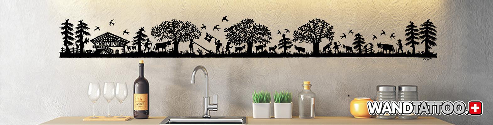 Wandtattoo Wallprints Wand Dekoration Wandtattoos 3d Sticker Online Kaufen