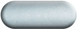 Wandtattoo Basset Hound in Silber métallic