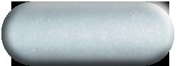 Wandtattoo Pfau in Silber métallic