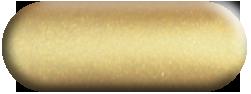 Wandtattoo Herz Kuhglocken in Gold métallic