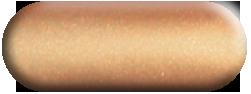 Wandtattoo Pfau in Kupfer métallic