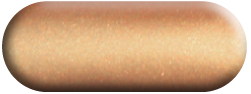 Wandtattoo Yin-Yang Ornament in Kupfer métallic