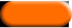 Wandtattoo Yin-Yang Ornament in Orange