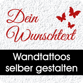 wandtattoo wallprints wand dekoration wandtattoos 3d. Black Bedroom Furniture Sets. Home Design Ideas